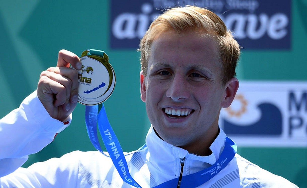 Jordan Wilimovsky Surges for Silver in FINA World Championships Men's 10K
