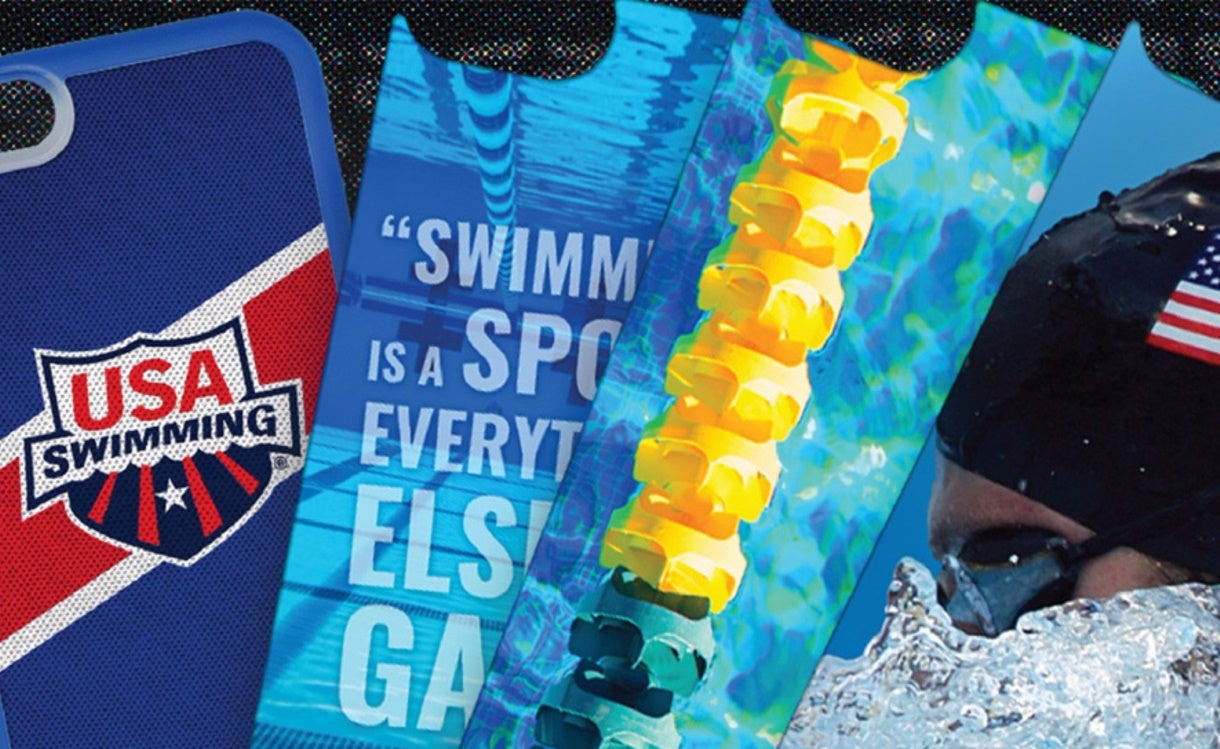 USA Swimming Aligns with Swaponz to Create Unique Smartphone Cases