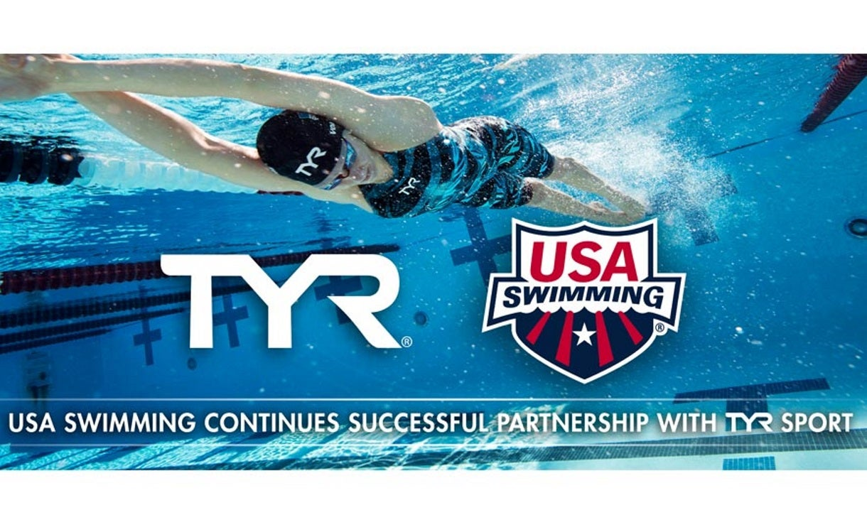 USA Swimming Continues Successful Partnership with TYR Sport