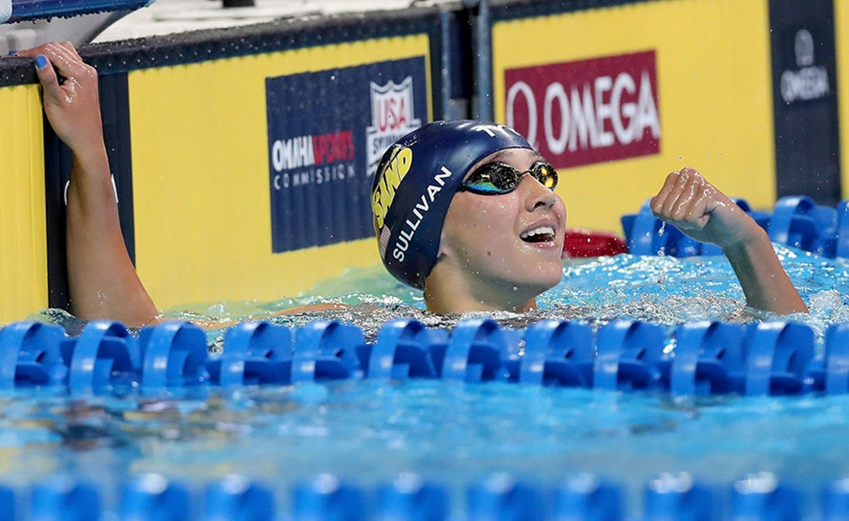Andrew, Luther Win Again at Speedo Junior Nationals