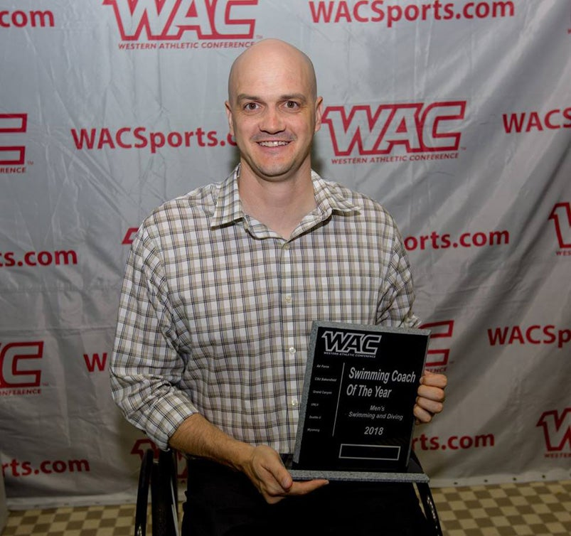 Dave Denniston named Western Athletic Conference coach of the year