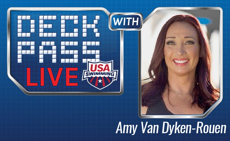 Amy Van Dyken-Rouen will host Deck Pass Live