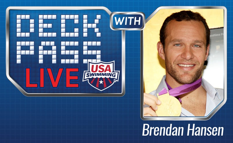 Brendan Hansen will host Deck Pass Live