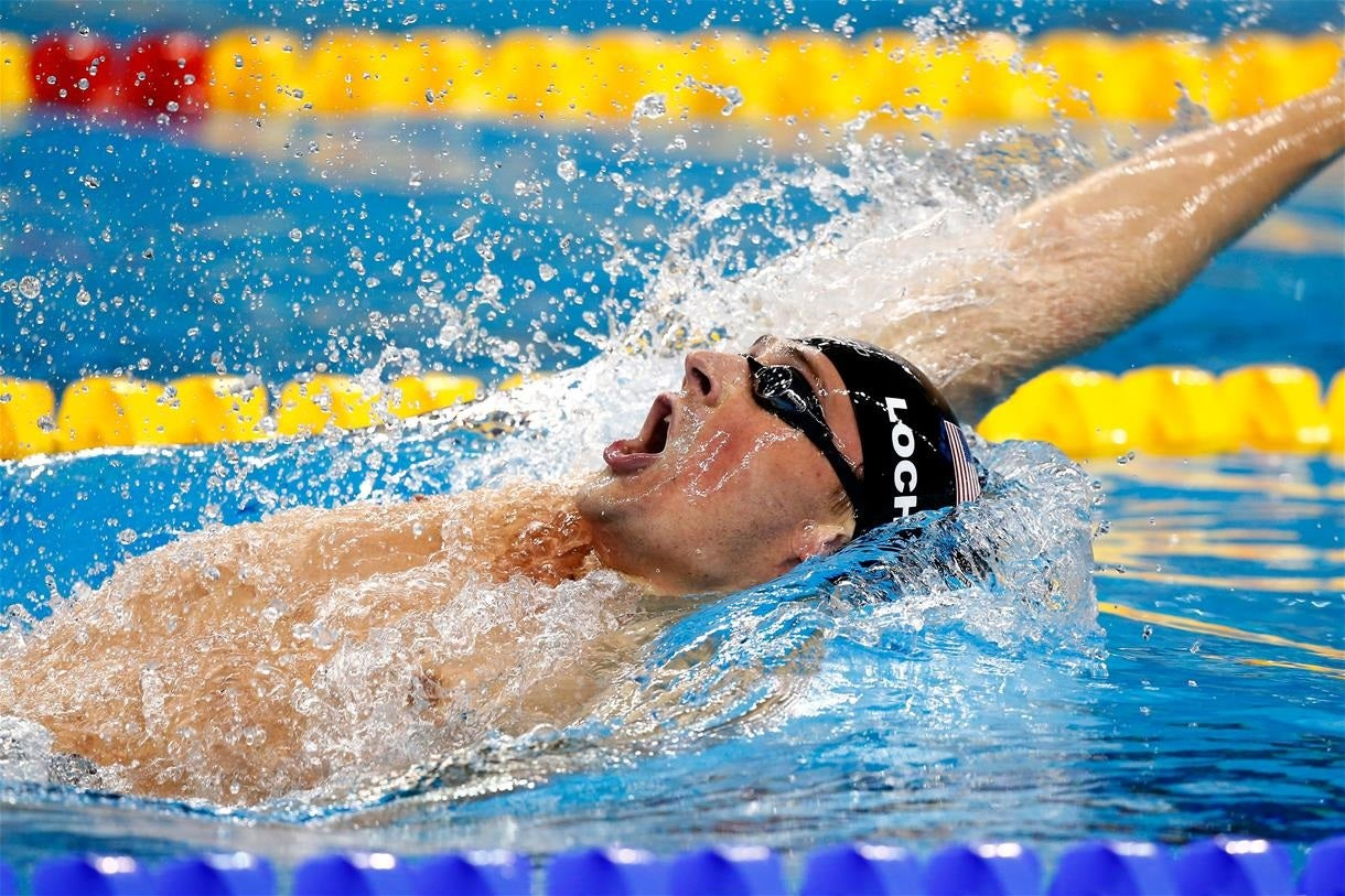 Lochte Victorious, Three Add Second Titles on Final Night of U.S. Open