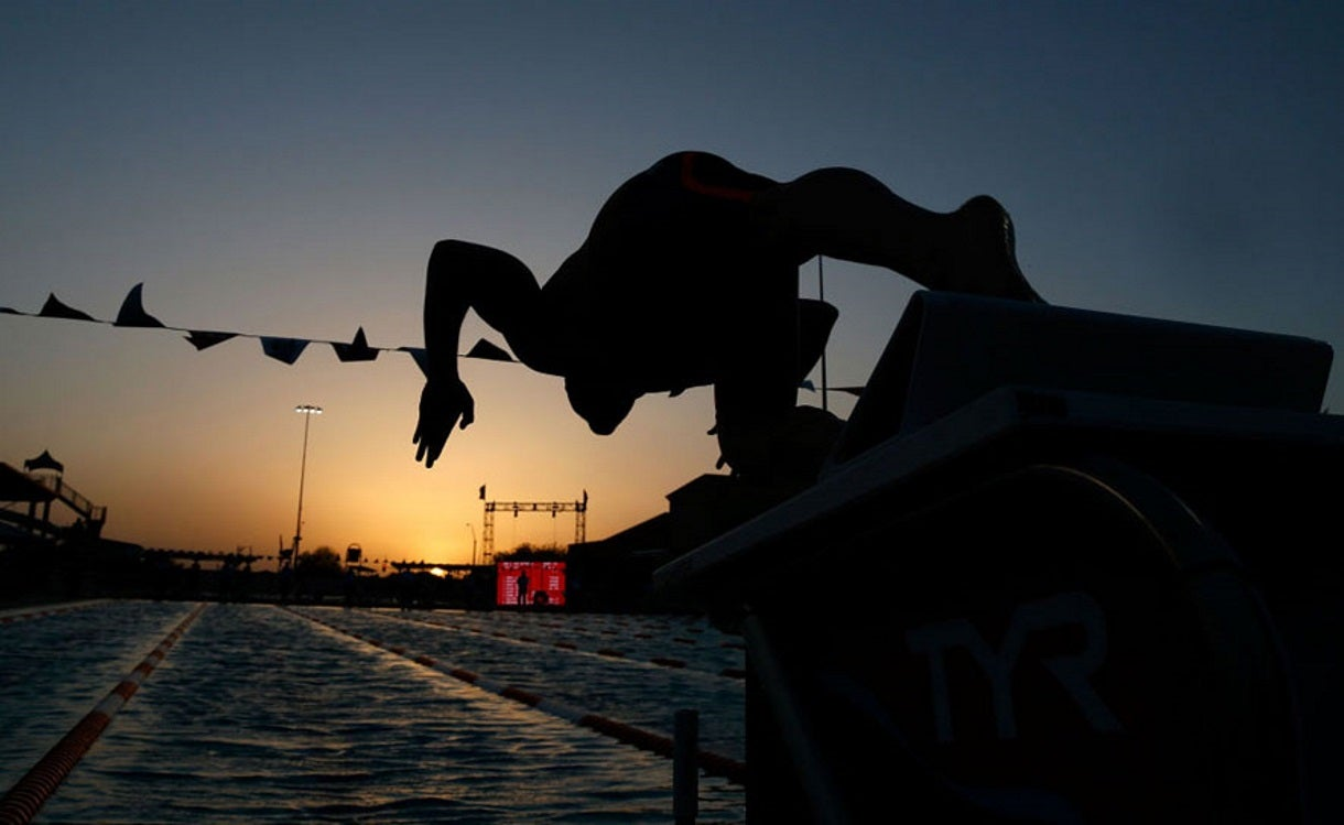 Behind the Scenes from the TYR Pro Swim Series at Mesa with Bonus Video