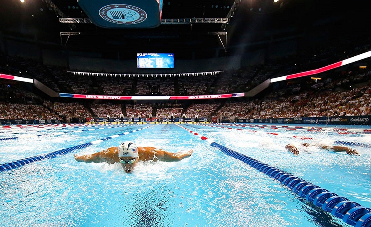 Michael Phelps Wins Last Race on U.S. Soil