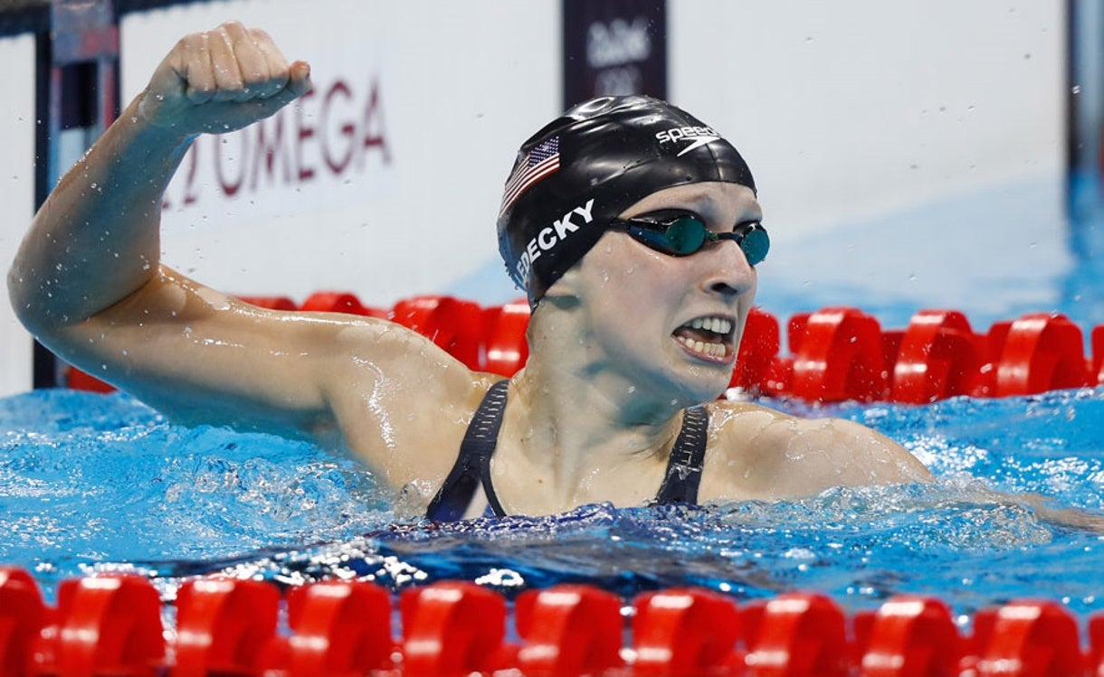 Ledecky Named One of ESPN's Most Dominant Athletes