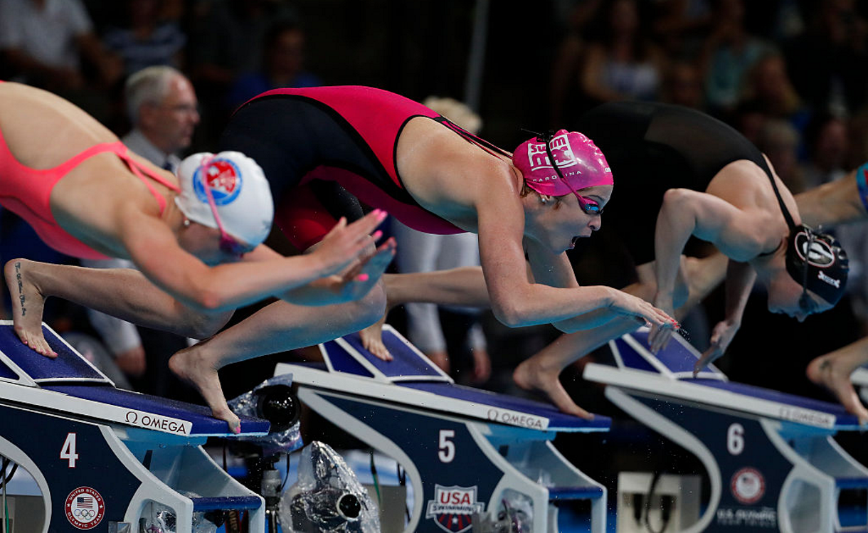 Adams Overcomes Adversity to Win 200 Fly at Trials