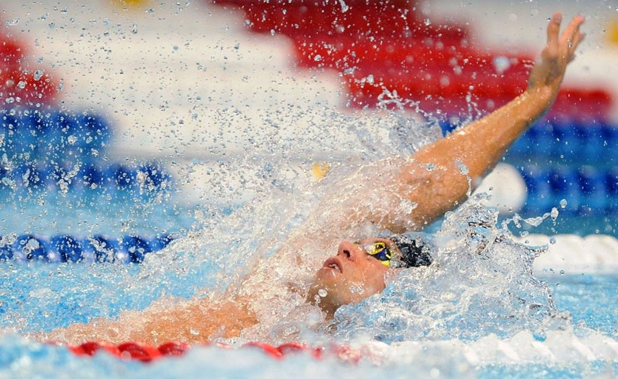 Grevers Wins 100m Backstroke at Arena Pro Swim Series in Austin