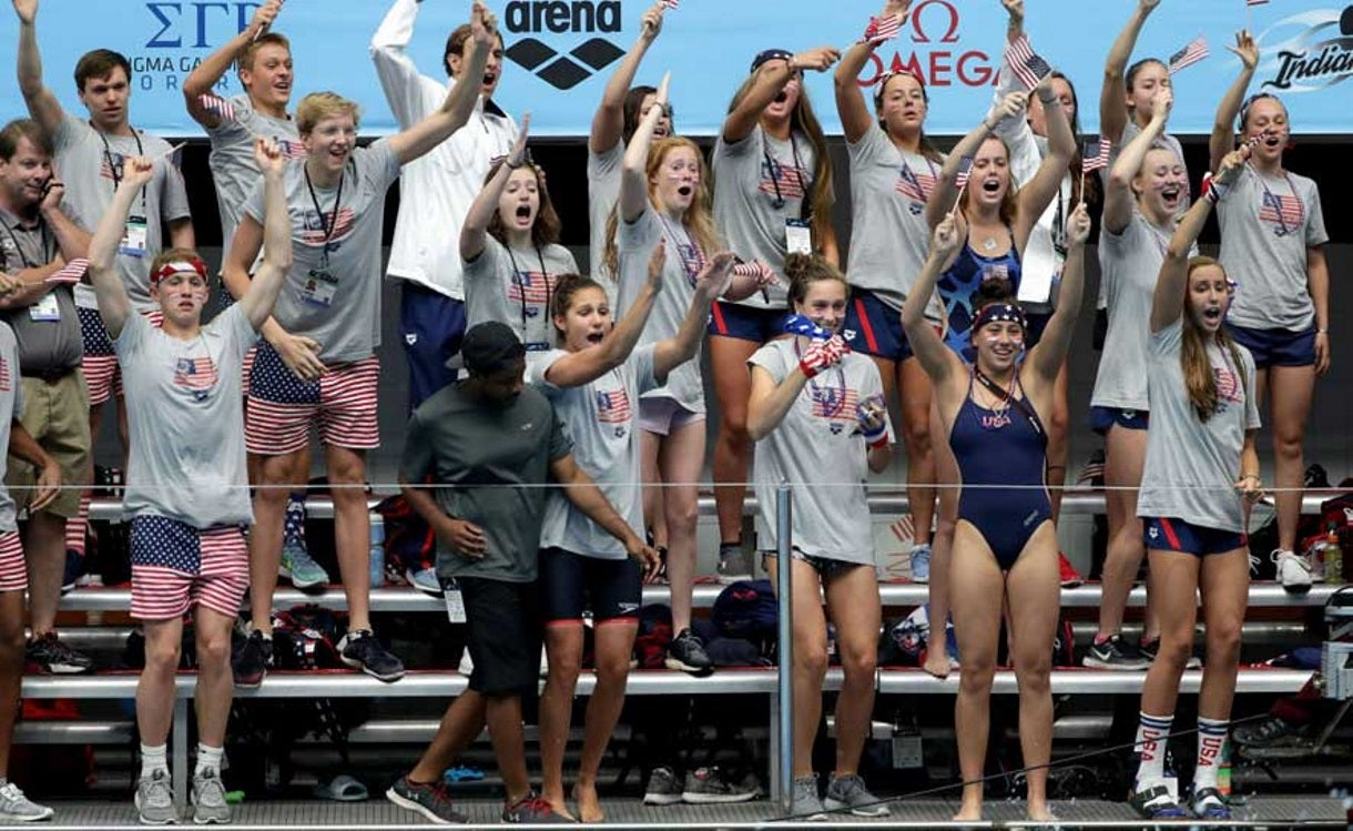 What Your Swim Team Cheer Says about You