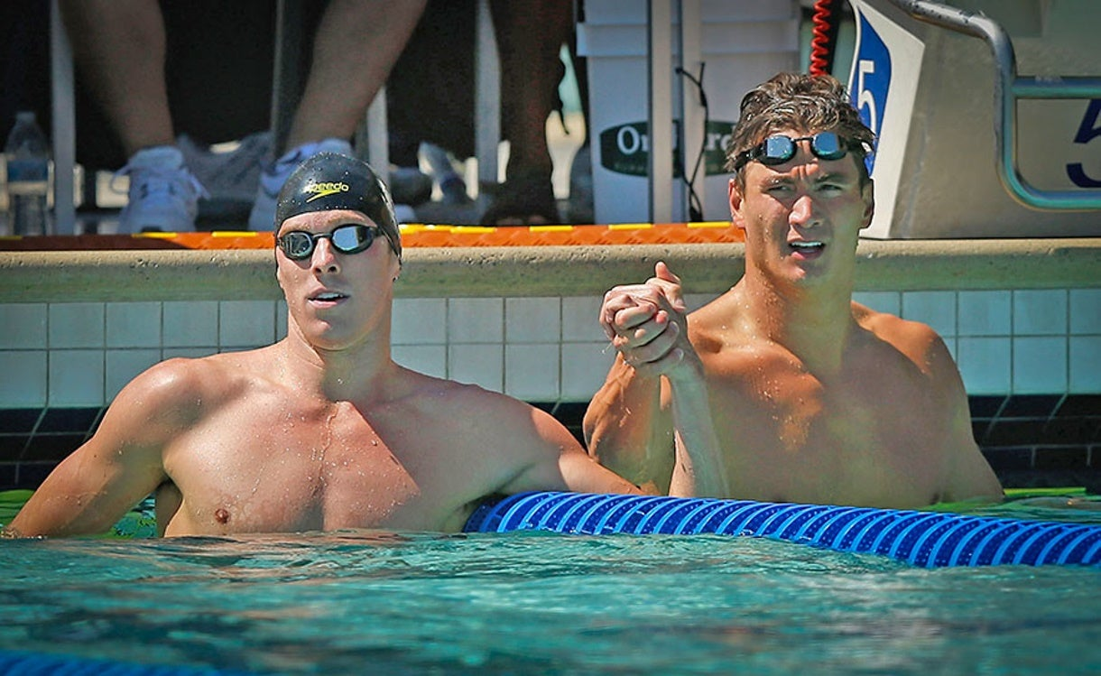 Nathan Adrian, Conor Dwyer Post Big Wins at the Arena Pro Swim Series at Santa Clara