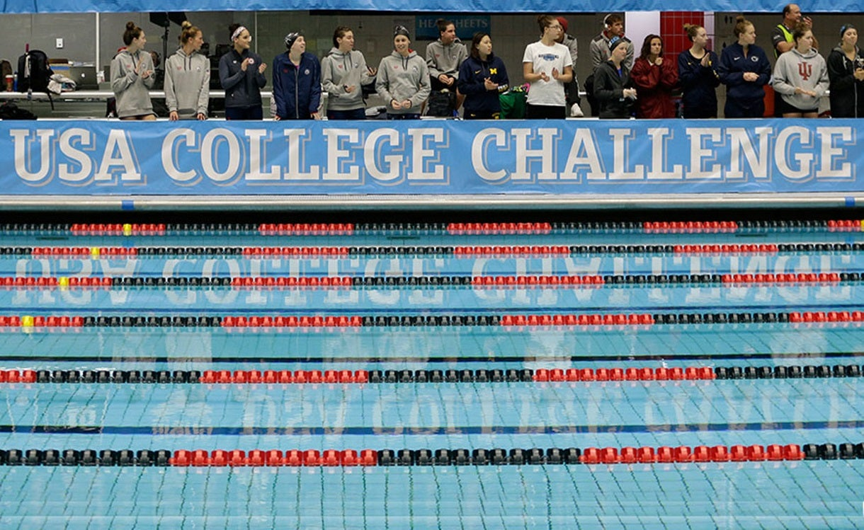 USA Swimming National Team to Square off Against Pac-12 Conference Stars in USA College Challenge