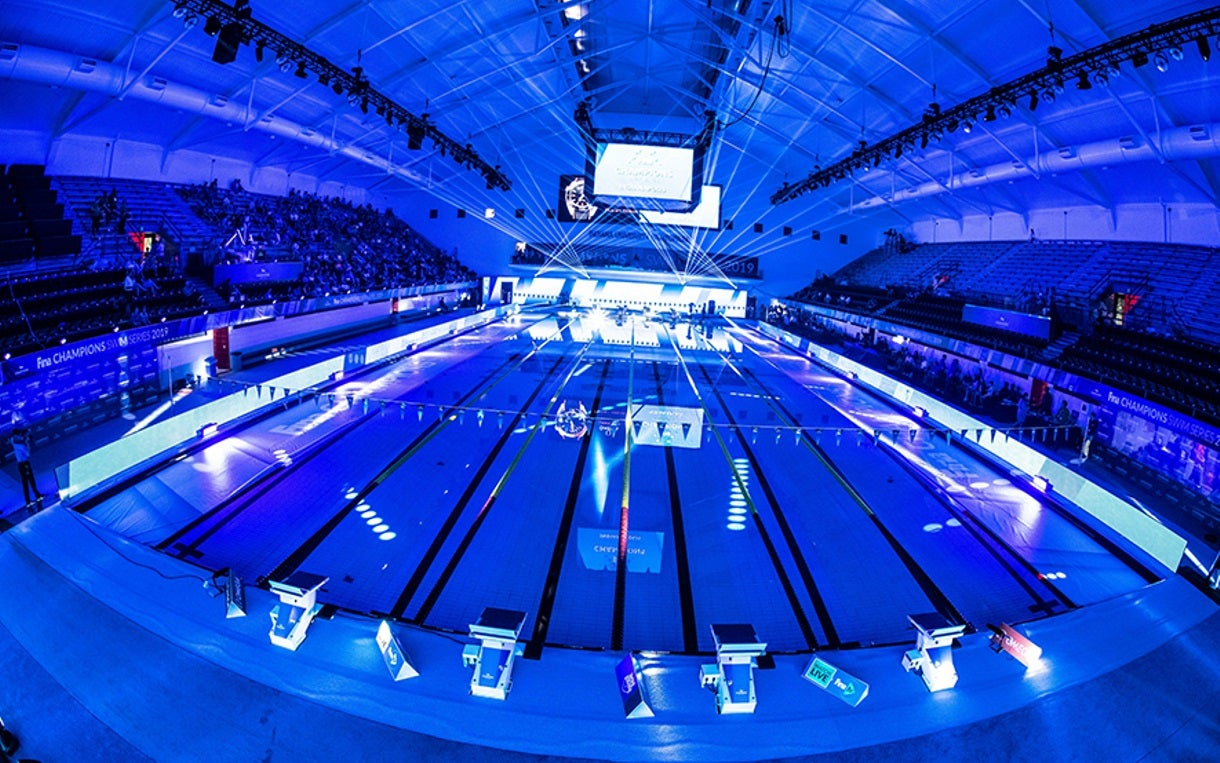 Five Americans Earn Victories on Night One of FINA Champions Swim Series at Indianapolis