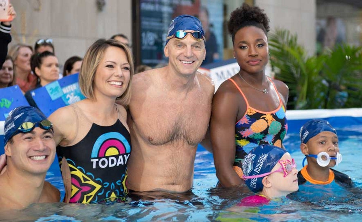 "A Behind the Scenes Look at USA Swimming Foundation Ambassadors on ""Today"""