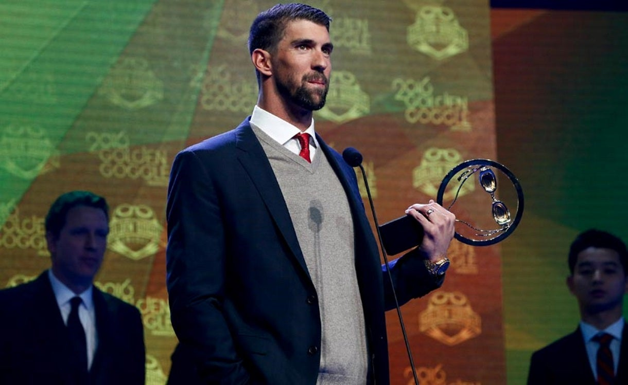 Phelps Named United States Sports Academy Male Athlete of the Year