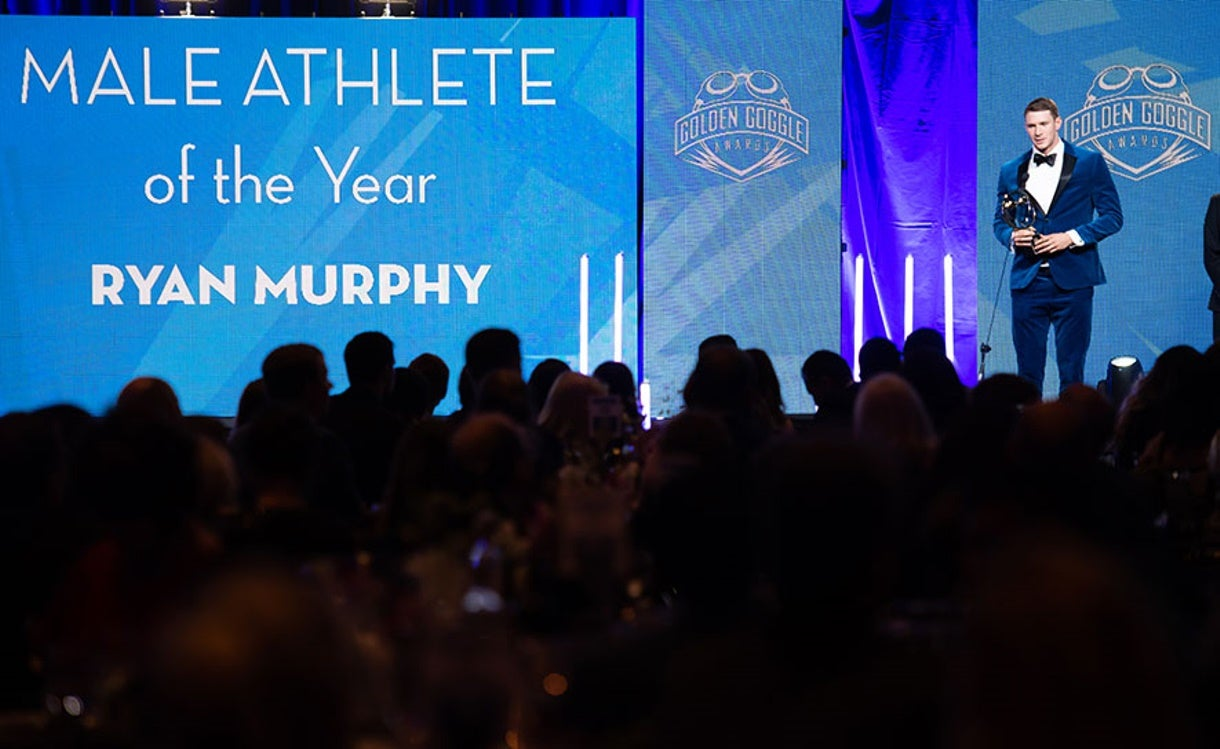 Ledecky & Murphy Named Athletes of the Year at 2018 Golden Goggle Awards