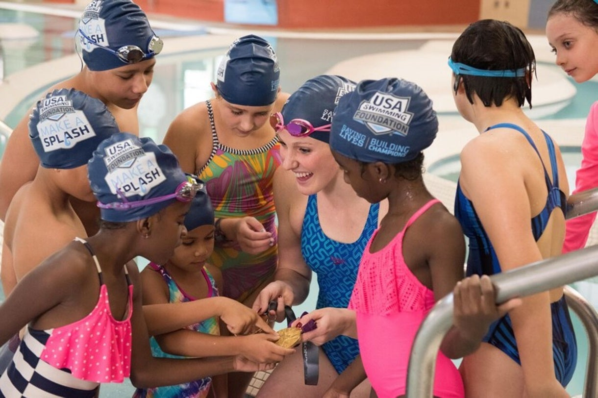 USA Swimming Foundation Surpasses $700,000 in 2018 Grant Funding for Make a Splash Local Partners