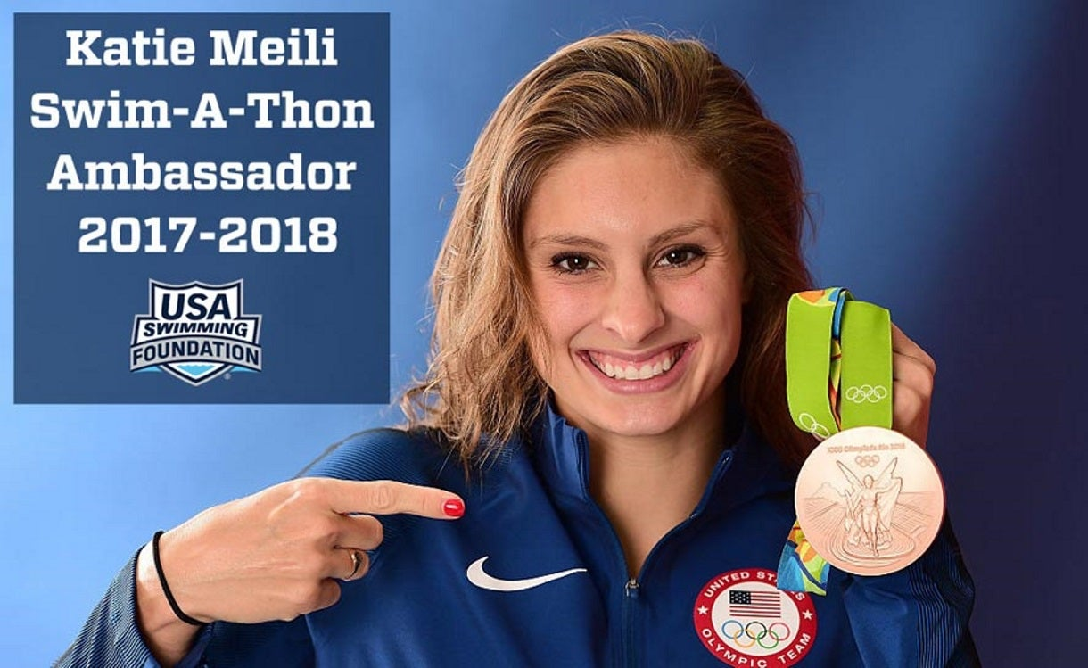 Meili Named 2017 Swim-a-Thon Ambassador