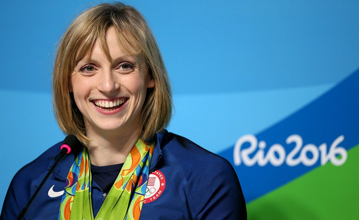 Katie Ledecky Selected to Washington DC Sports Hall of Fame