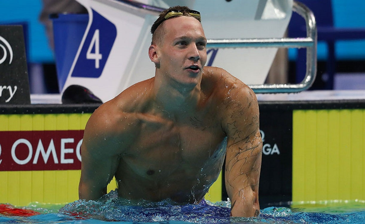 Dressel Named FINA's Top Male Swimmer of 2017