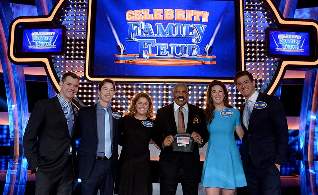 "Olympians Score for USA Swimming Foundation on ""Celebrity Family Feud"""