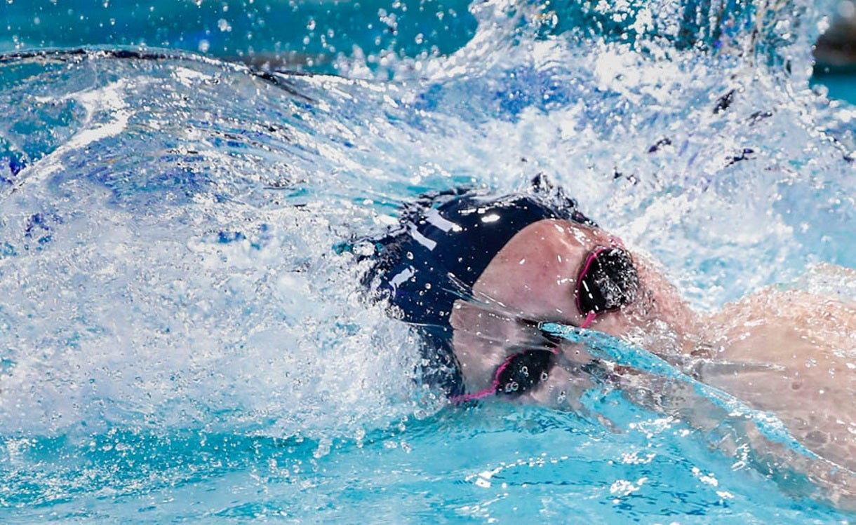 Katie Drabot is Swimming Free of Outside Expectations
