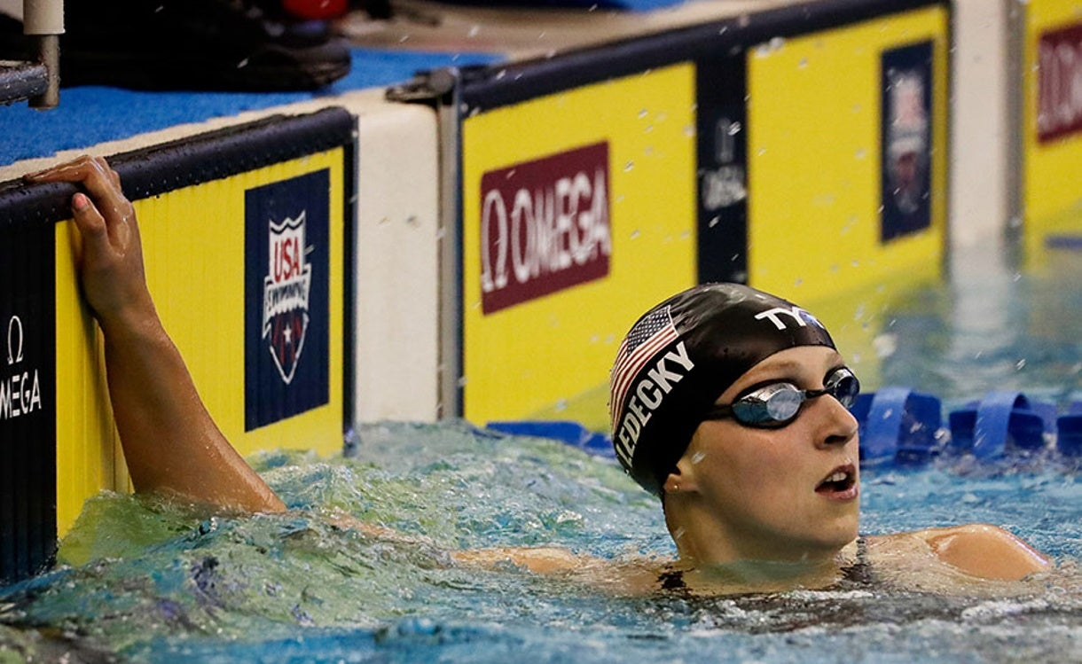 Ledecky Earns Win No. 3 at USA Swimming Winter Nationals