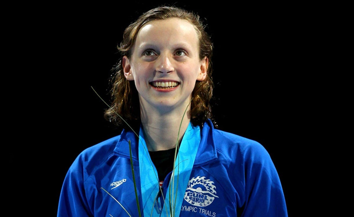 Ledecky and Teammates Competed at Juniors on Path to Olympic Swimming Greatness