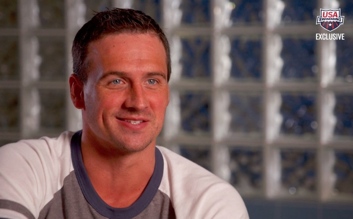 Ryan Lochte: Swimming for His Fans