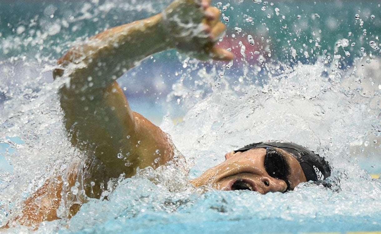 Michael Andrew Cruises to Win No. 5 at TYR Pro Swim Series  at Des Moines