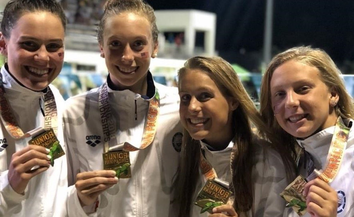 More Meet Records Fall on Night 2 of Junior Pan Pacs