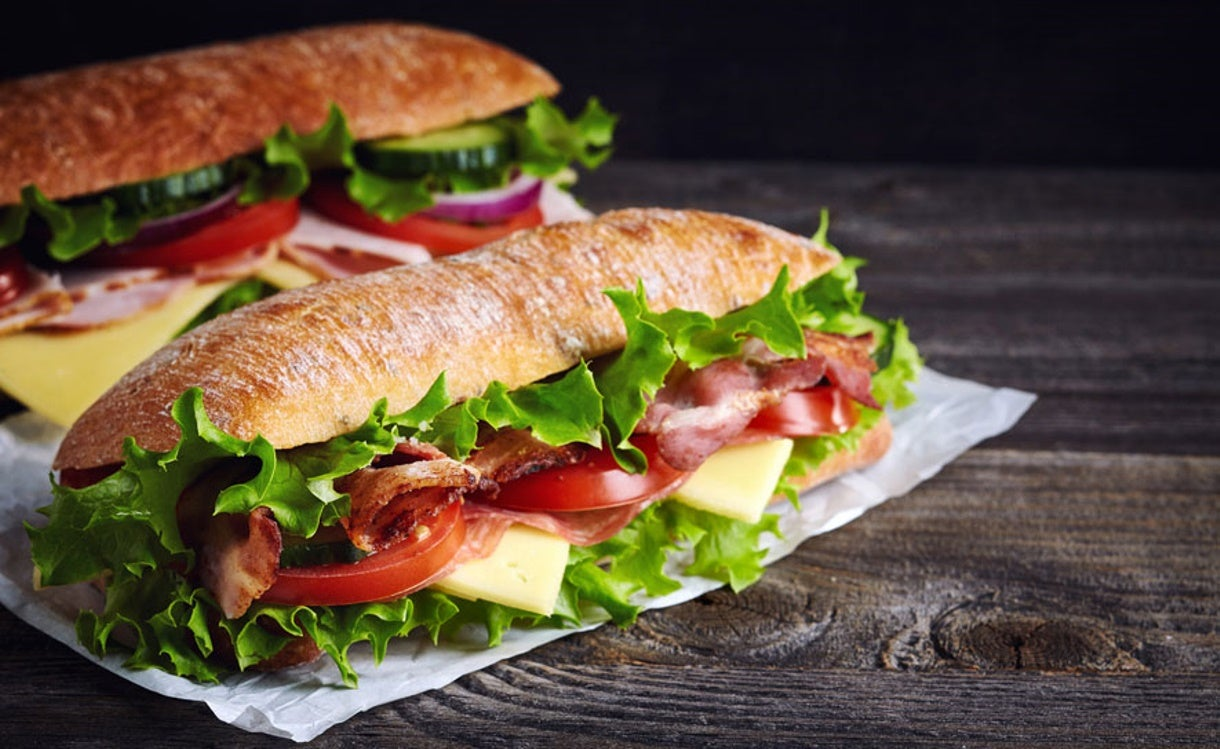 Is it OK for Swimmers to Eat Sub Sandwiches?