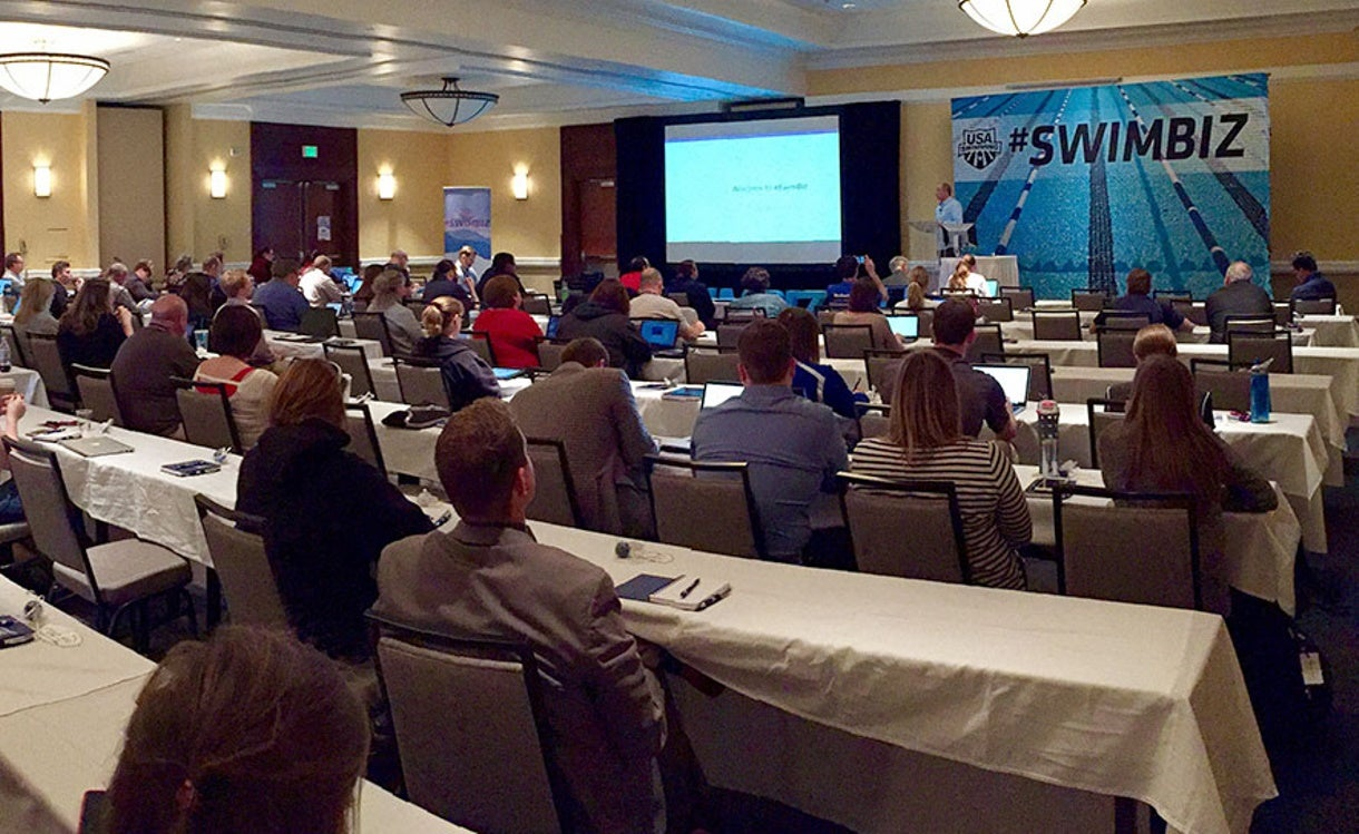 #SwimBiz: Day One in Social