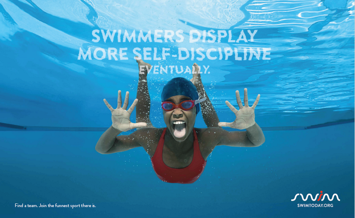 SwimToday Entices All to Join the #FunnestSport with New Creative Content